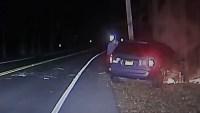Video Shows Moment NJ Police Officer Rescued Man From Burning Van After Crash