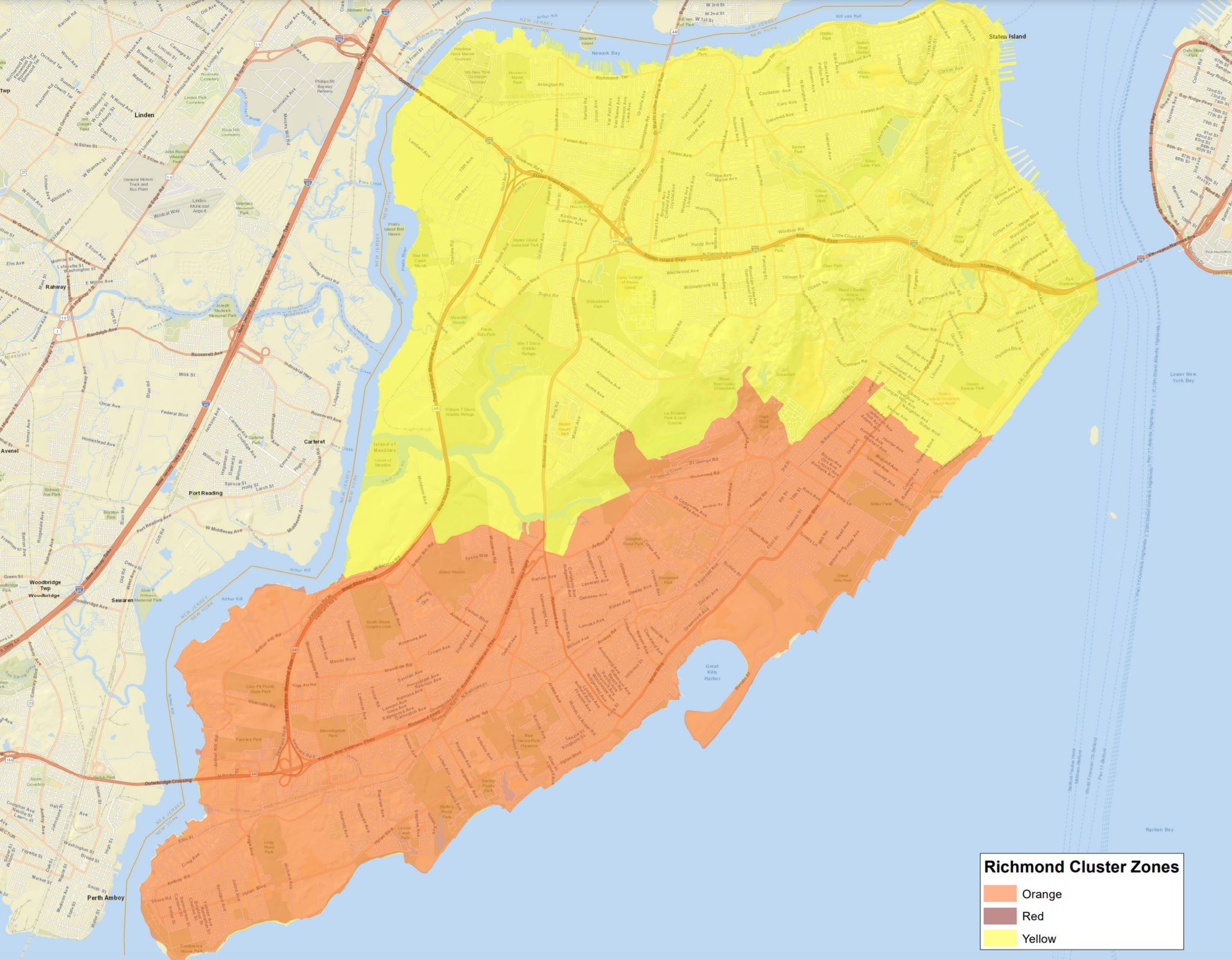 staten island cluster