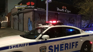 Deputies broke up two more illicit parties across New York City early Saturday morning for violating city and state laws.