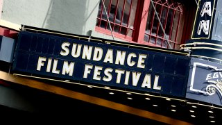 PARK CITY, UTAH - JANUARY 25: The Egyptian Theatre marquee on Main Street is seen during the 2019 Sundance Film Festival on January 25, 2019 in Park City, Utah.