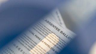 New York absentee ballot