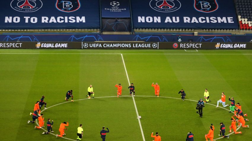 Players Kneel in Protest Against Racism