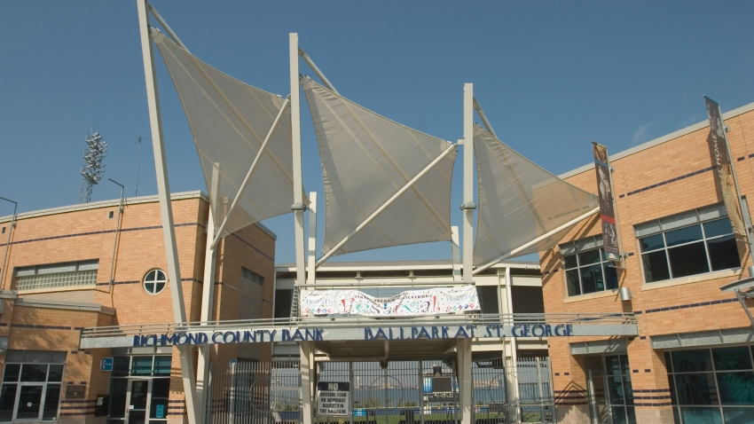 The Richmond County Bank Ballpark at St. George Station