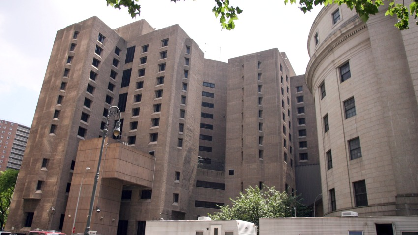 The Metropolitan Correctional Center stands in New York City