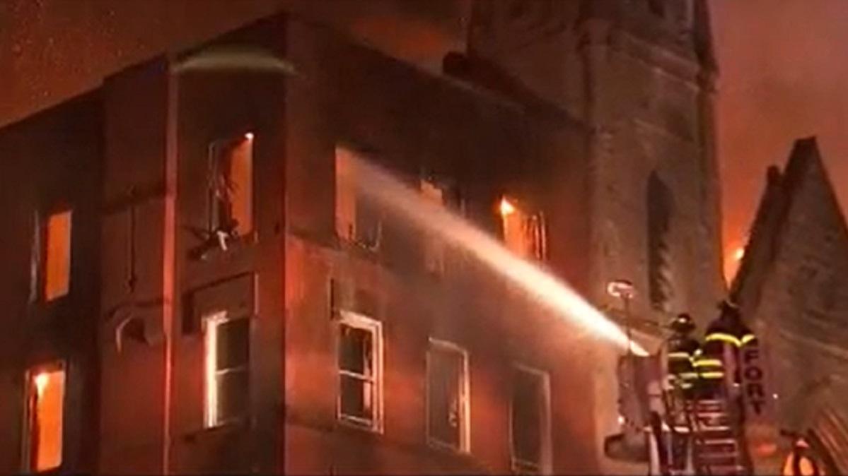 Massive East Village Fire Damages Nearby Church  U2013 Nbc New