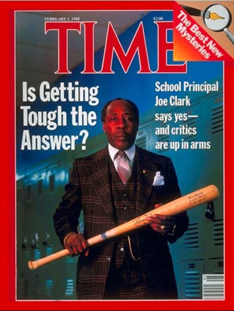Joe Louis Clark on cover of TIME magazine