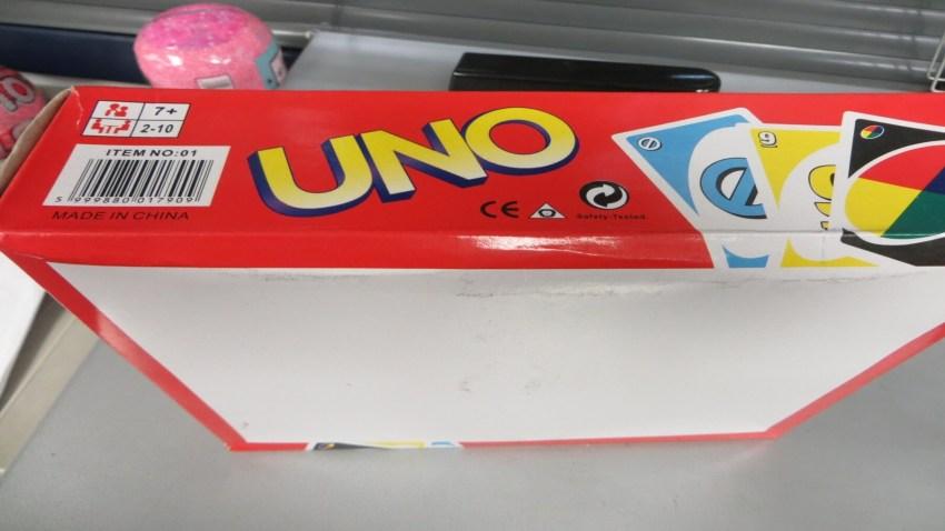 Fake UNO deck