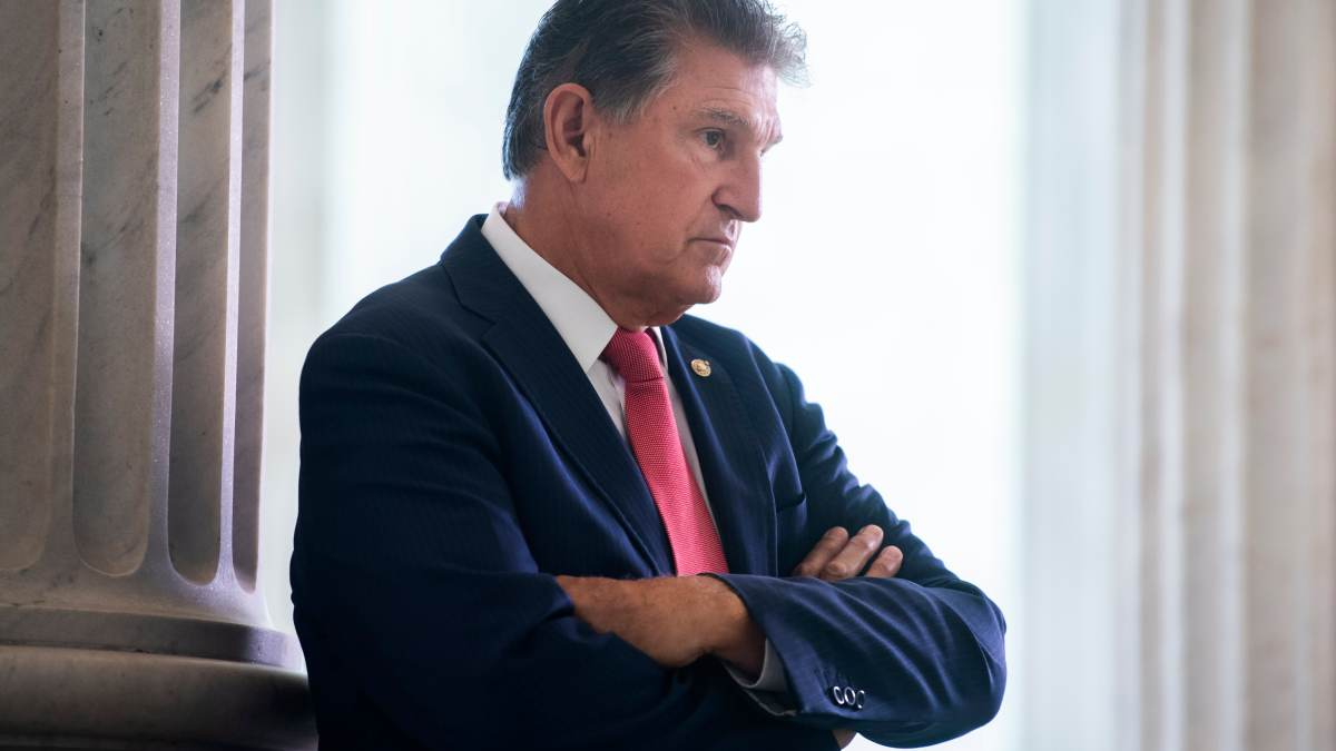 Manchin 'Absolutely' Opposes Further Blanket Direct Payment Checks