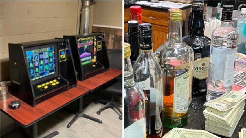 Illegal Alcohol and Gambling Operation in Newark, New Jersey.