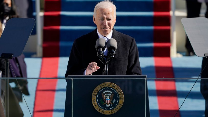 President Biden delivers his inaugural address