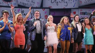 Cast of Mean Girls on Broadway