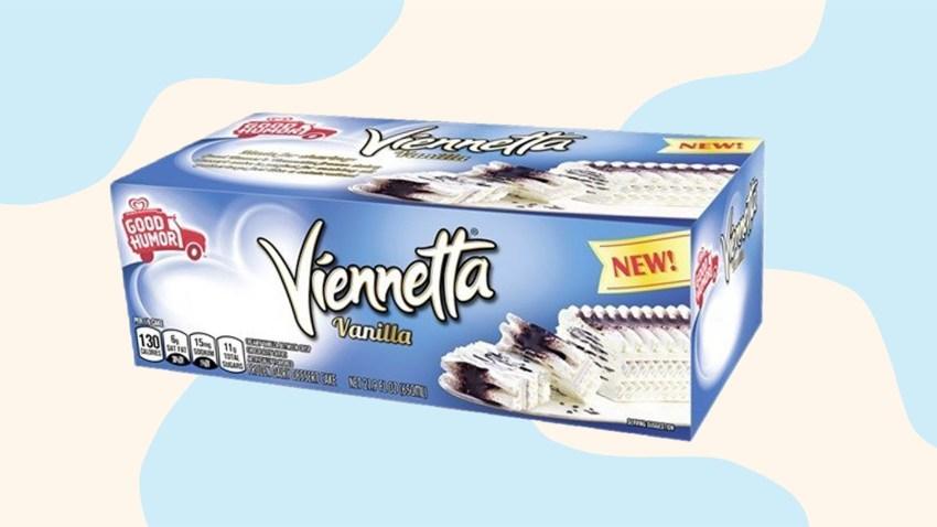 Viennetta ice cream cake