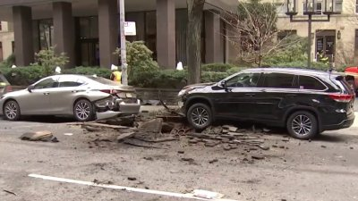 Midtown Manhole Explosions Damage Streets, Parked Cars