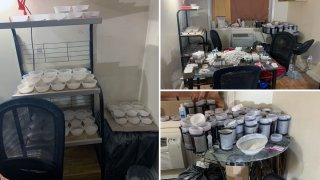 Alleged Heroin Mill Bust in NYC