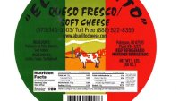 CDC: Stop Eating Potentially Contaminated Local Brand of White Cheese