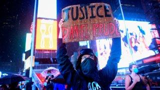Daniel Prude protester
