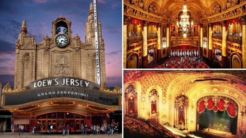 Loew's Theatre Jersey City Restoration Renderings
