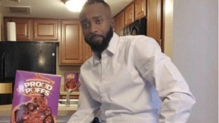 Nic King, founder of Proud Puffs cereal.