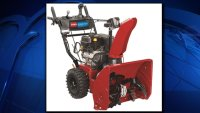 Amputation Hazard Prompts Snowblower Recall