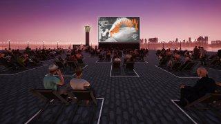 Digital rendering of Tribeca Film Festival's planned screenings at Brookfield Place New York