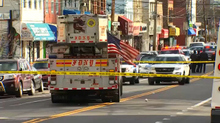 A 6-year-old child was struck by an FDNY ladder truck on a Staten Island street Saturday morning, officials said