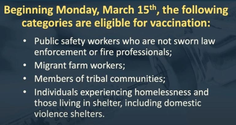 nj vaccine eligibility