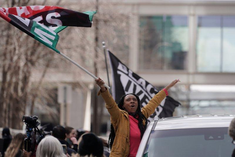 Photos: Americans React to Guilty Verdict in Derek Chauvin Trial