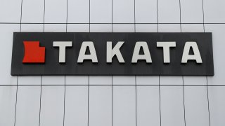 This Sunday, June 25, 2017, photo shows TK Holdings Inc. headquarters in Auburn Hills, Mich. A government effort to speed up recalls of more than 21 million of the most dangerous Takata air bag inflators is falling short, according to an analysis of completion rates by The Associated Press.