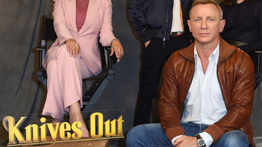 """Daniel Craig attends the """"Knives Out"""" photo call"""
