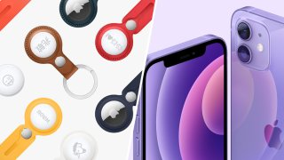 Apple Airtags and the new purple color iPhone 12