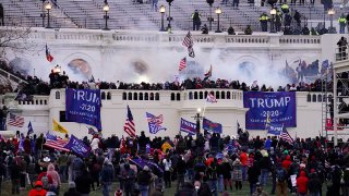 FILE - In this Jan. 6. 2021, file photo, Trump supporters storm the Capitol in Washington.