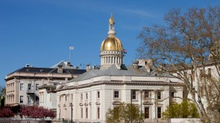 New Jersey's capitol building in Trenton