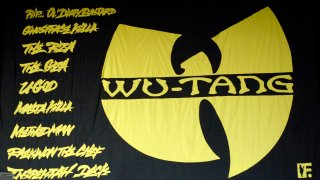 Wu-Tang Clan back drop