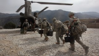 U.S. And Afghan Forces Battle Taliban In Kunar Province