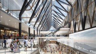 Penn Station renovation plans