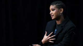 """In this image released on October 2, 2020, Willow Smith attends """"Rihanna's Savage X Fenty Show Vol. 2"""" presented by Amazon Prime Video at the Los Angeles Convention Center in Los Angeles, California; and broadcast."""