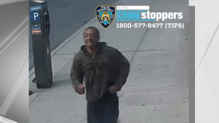 Police released surveillance images of a suspect wanted in a hate crime investigation for yelling anti-Asian slurs and spitting at a mother of three on a city subway.