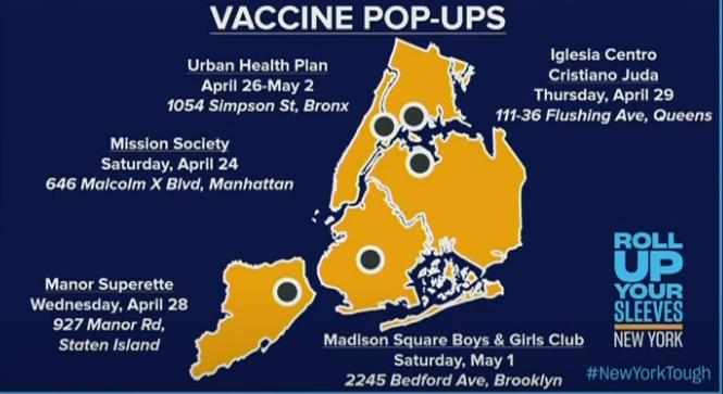 vaccine popups nys