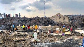 Congo Volcano effects