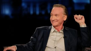 """In this file photo, talk show host Bill Maher appears on """"Jimmy Kimmel Live!"""""""
