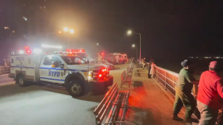 NYPD and FDNY search units responded to Far Rockaway for a reportedly missing swimmer