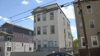 A home in Paterson where police say a 7-year-old child was fatally stabbed.