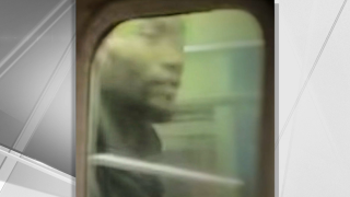 Police were searching on Saturday for a man they say tried to mug a New York City subway passenger