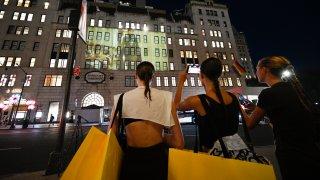 Marc Jacobs Fashion Show Bergdorf Goodman