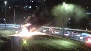 Phoenix Freeway Crash