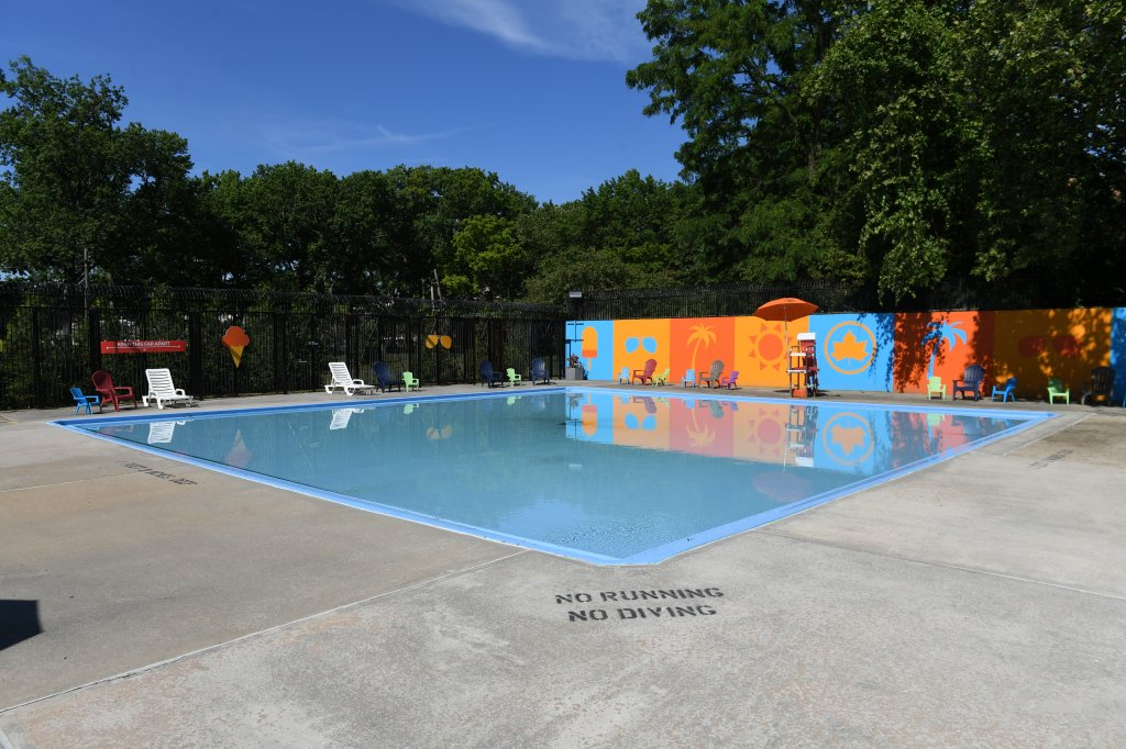 NYC Parks unveiled the newly refurbished Van Cortlandt Pool in the Bronx.