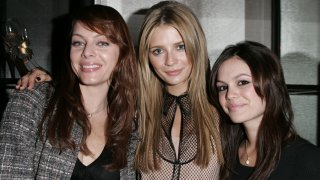 In this file photo, Melinda Clarke, Mischa Barton and Rachel Bilson attend the Chanel Fall/Winter Party Hosted by Mischa Barton in Los Angeles, California.