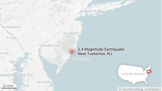 nj earthquake