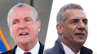 New Jersey Gov. Phil Murphy, left, will campaign for his second term against GOP gubernatorial candidate Jack Ciattarelli, right.
