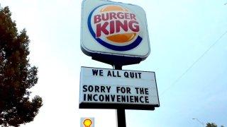 Burger King Sign